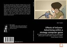 Bookcover of Effects of InGame-Advertising within a strategy computer game
