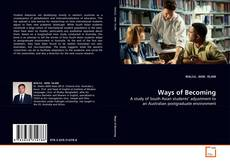 Bookcover of Ways of Becoming