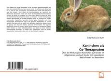 Bookcover of Kaninchen als Co-Therapeuten