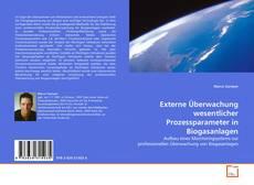 Capa do livro de Externe Überwachung wesentlicher Prozessparameter in Biogasanlagen