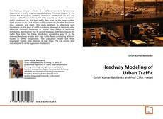 Bookcover of Headway Modeling of Urban Traffic