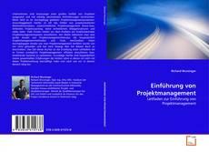 Buchcover von Einführung von Projektmanagement