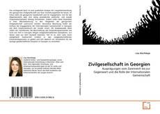 Bookcover of Zivilgesellschaft in Georgien