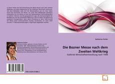 Capa do livro de Die Bozner Messe nach dem Zweiten Weltkrieg