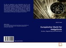Couverture de Europäischer Markt für Hedgefonds