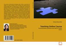 Teaching Online Course的封面