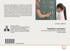 Teachers' turnover: kitap kapağı