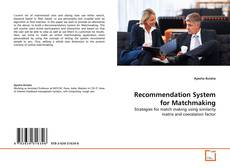 Bookcover of Recommendation System for Matchmaking