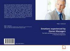 Bookcover of Emotions experienced by Owner-Managers