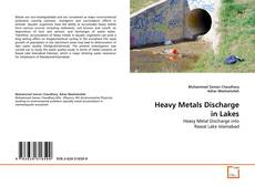 Bookcover of Heavy Metals Discharge in Lakes