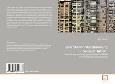 Buchcover von Eine Standortbestimmung Sozialer Arbeit: