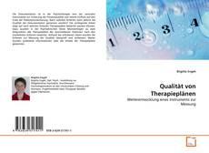 Buchcover von Qualität von Therapieplänen
