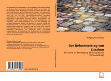 Bookcover of Der Reformvertrag von Lissabon