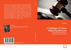 Capa do livro de A Typology of Crime-Reporting Behavior