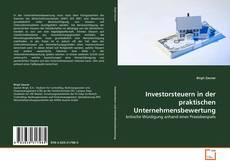 Copertina di Investorsteuern in der praktischen Unternehmensbewertung