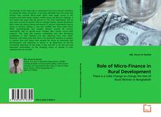 Обложка Role of Micro-Finance in Rural Development