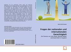 Bookcover of Fragen der nationalen und internationalen Gerechtigkeit