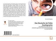 Couverture de Das Deutsche als frühe Zweitsprache