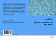 Bookcover of Turbulence estimation by MST Radar