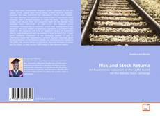 Bookcover of Risk and Stock Returns