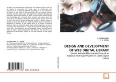 Bookcover of DESIGN AND DEVELOPMENT OF WEB DIGITAL LIBRARY