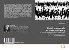 Capa do livro de Mundpropaganda im Event-Marketing