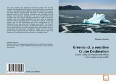 Buchcover von Greenland, a sensitive Cruise Destination