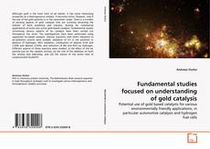 Couverture de Fundamental studies focused on understanding of gold catalysis