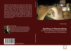 Buchcover von Spoiling in Peacemaking