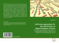 Borítókép a  Anforderungsanalyse für den GIS-Einsatz an allgemeinbilden Schulen - hoz