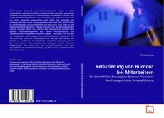 Reduzierung von Burnout bei Mitarbeitern kitap kapağı