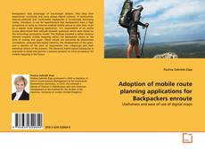 Обложка Adoption of mobile route planning applications for Backpackers enroute