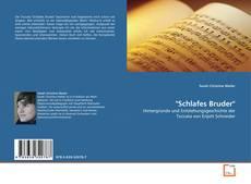 """Portada del libro de """"Schlafes Bruder"""""""