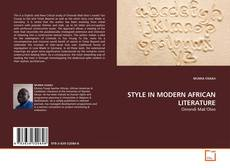 Bookcover of STYLE IN MODERN AFRICAN LITERATURE