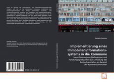 Buchcover von Implementierung eines Immobilieninformations-systems in die Kommune