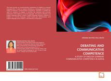 Capa do livro de DEBATING AND COMMUNICATIVE COMPETENCE