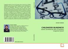 Buchcover von CHILDHOOD BLINDNESS