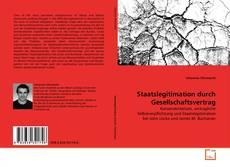 Buchcover von Staatslegitimation durch Gesellschaftsvertrag