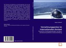 Capa do livro de Verrechnungspreise im internationalen Kontext