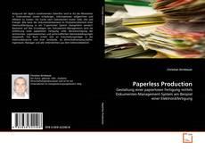 Copertina di Paperless Production