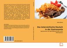 Buchcover von Das österreichische Deutsch in der Gastronomie