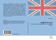 Portada del libro de English for you