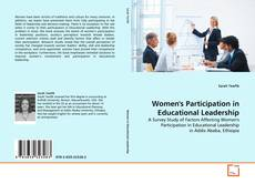 Bookcover of Women's Participation in Educational Leadership