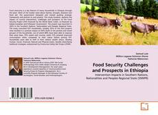 Copertina di Food Security Challenges and Prospects in Ethiopia