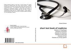 Bookcover of short text book of medicine