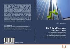 Bookcover of Die Entwicklung von Geschäftsideen