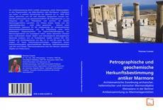 Capa do livro de Petrographische und geochemische Herkunftsbestimmung antiker Marmore