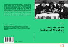 Portada del libro de Social and Clinical Constructs of Alcoholism: