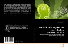 Bookcover of Deutsch nach Englisch bei schwedischen Muttersprachlern