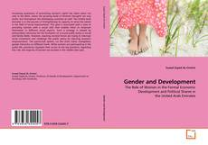Bookcover of Gender and Development